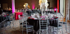 event chair covers and specialty linens